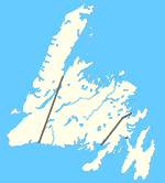 Small Map - Newfoundland